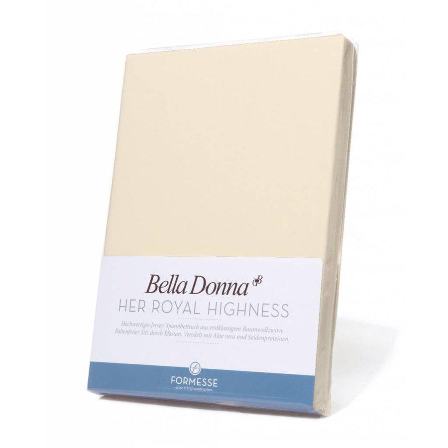 Bella Donna Jersey Hoeslaken - Vanille (0111)