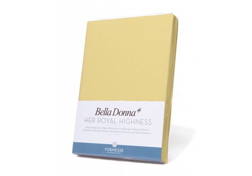 Formesse Bella Donna Jersey Hoeslaken - Lichtgeel (0091)