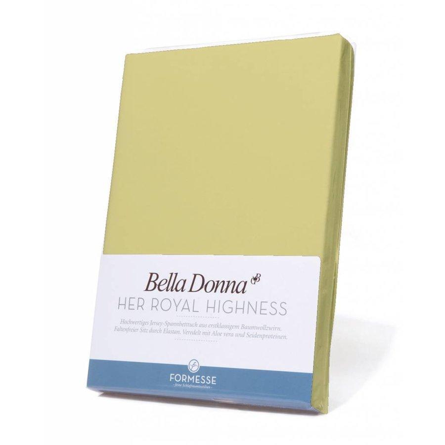 Bella Donna Jersey Hoeslaken - Lime (0531)