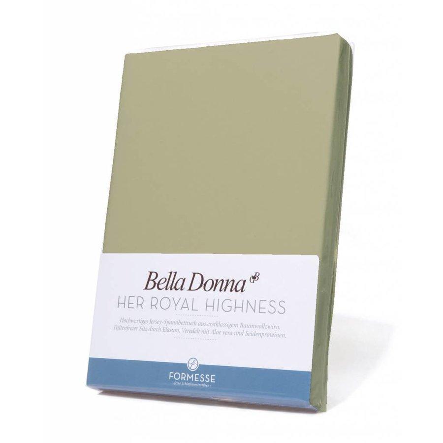 Bella Donna Jersey Hoeslaken - Pistache (0532)
