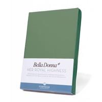 Bella Donna Jersey Hoeslaken - Olijfgroen (0533)