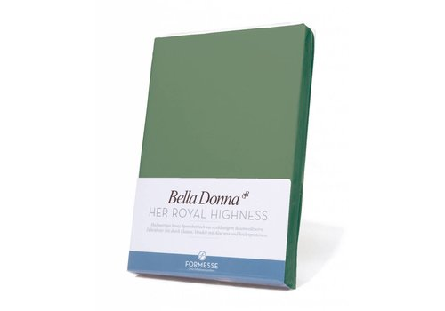 Formesse Bella Donna Jersey Hoeslaken - Olijfgroen (0533)