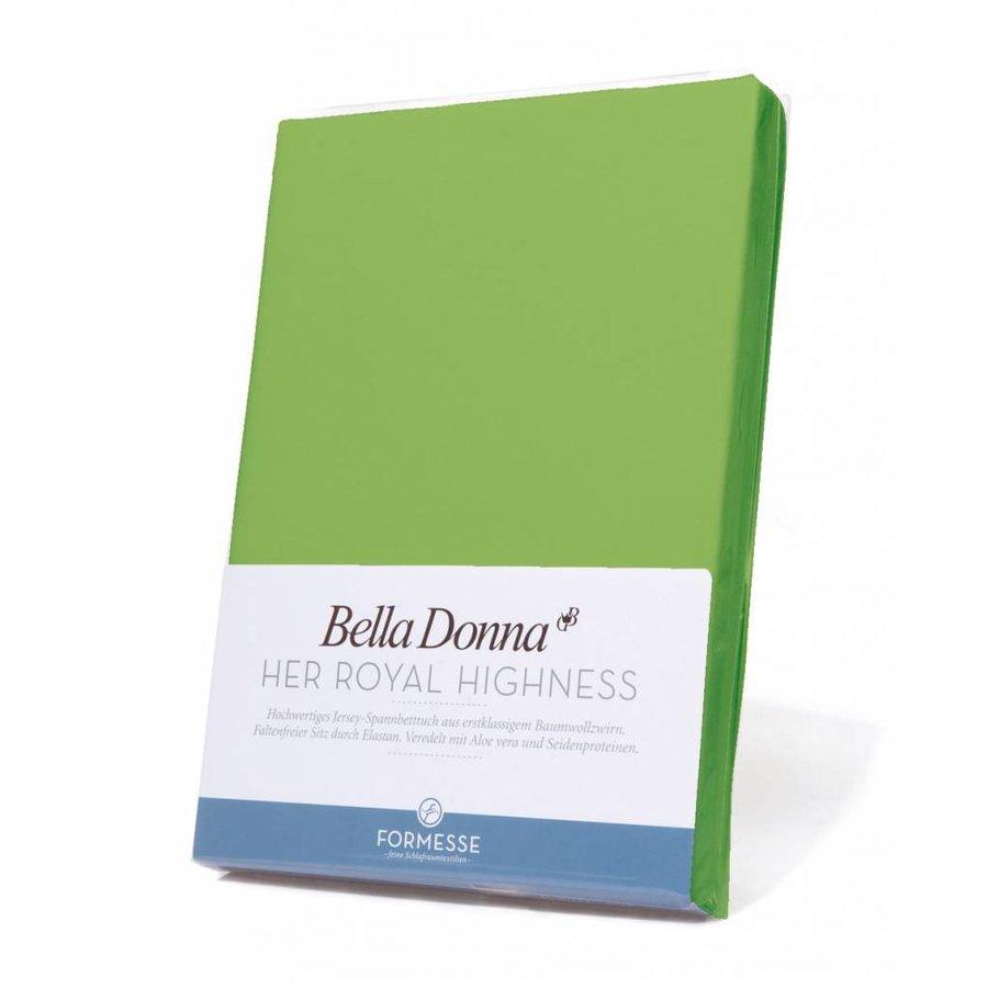 Bella Donna Jersey Hoeslaken - Appelgroen (0631)