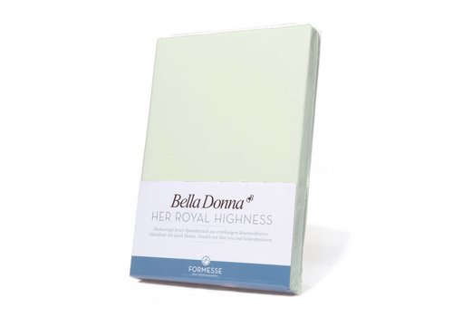 Formesse Bella Donna Jersey Hoeslaken - Pastelgroen (0629)