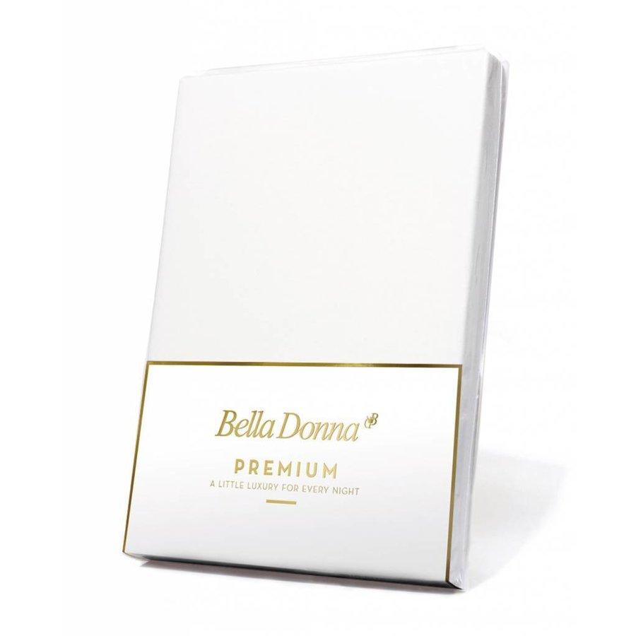 Bella Donna Premium Jersey Hoeslaken - Wit (1000)