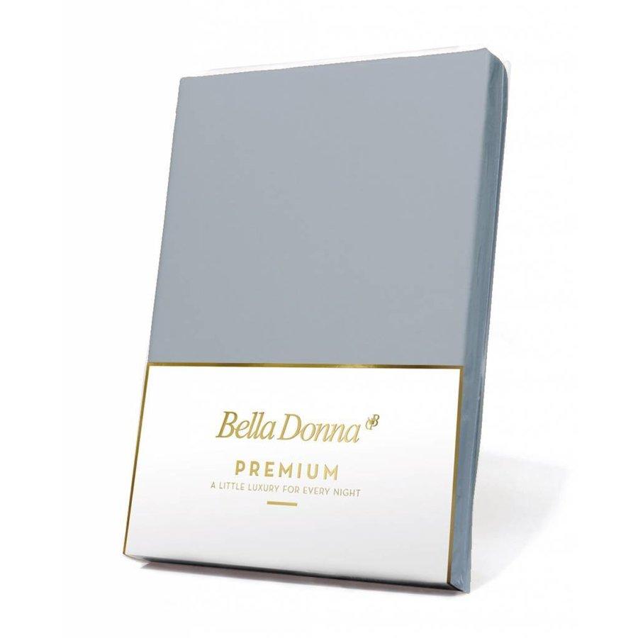 Bella Donna Premium Jersey Hoeslaken - Lichtgrijs (0703)
