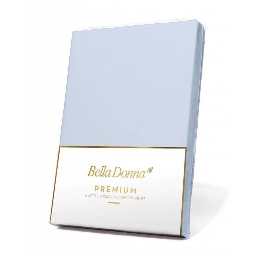 Bella Donna Premium Jersey Hoeslaken - Lucht Blauw (0523)