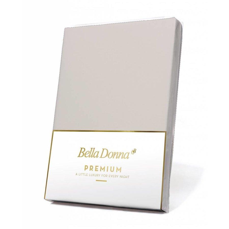 Bella Donna Premium Jersey Hoeslaken - Silver (0520)