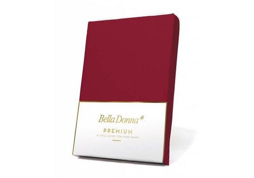 Formesse Bella Donna Premium Jersey Hoeslaken - Karmijnrood (0188)