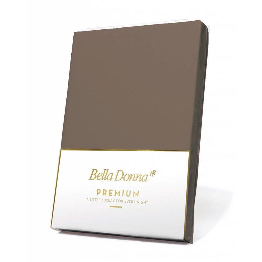 Bella Donna Premium Jersey Hoeslaken - Truffel (0126)