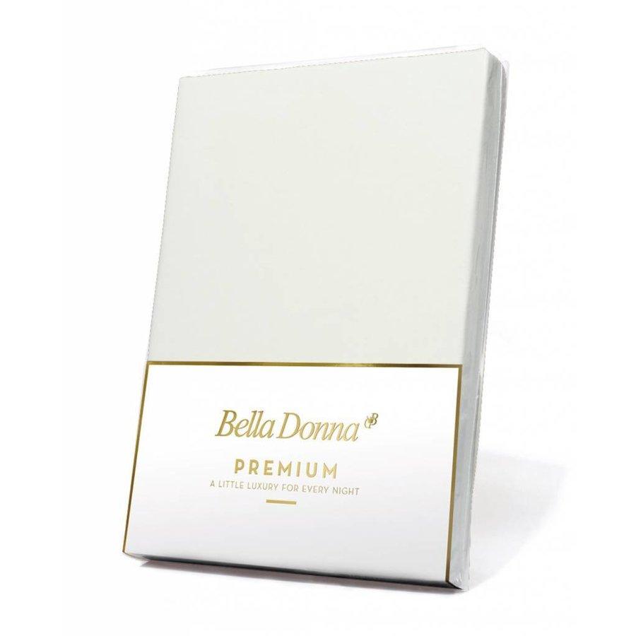 Bella Donna Premium Jersey Hoeslaken - Wolwit (0114)