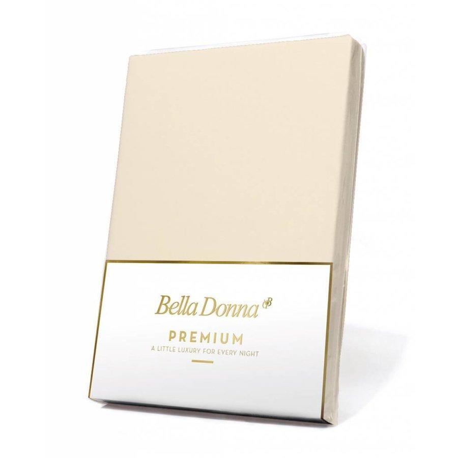 Bella Donna Premium Jersey Hoeslaken - Vanille (0111)