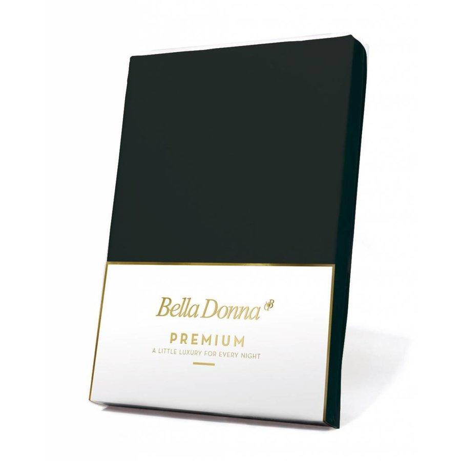 Bella Donna Premium Jersey Hoeslaken - Zwart (0101)