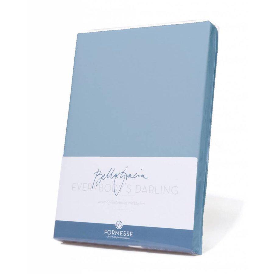 Bella Gracia Topper Hoeslaken - Lichtblauw (0522)