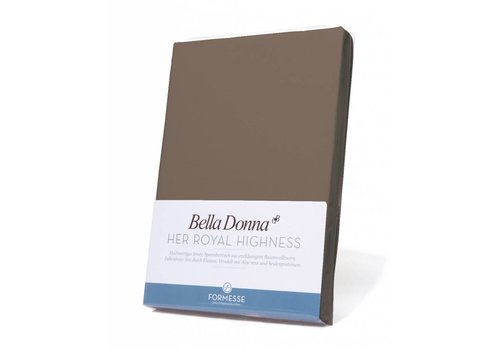 Formesse Bella Donna Topper Hoeslaken - Truffel (0126)