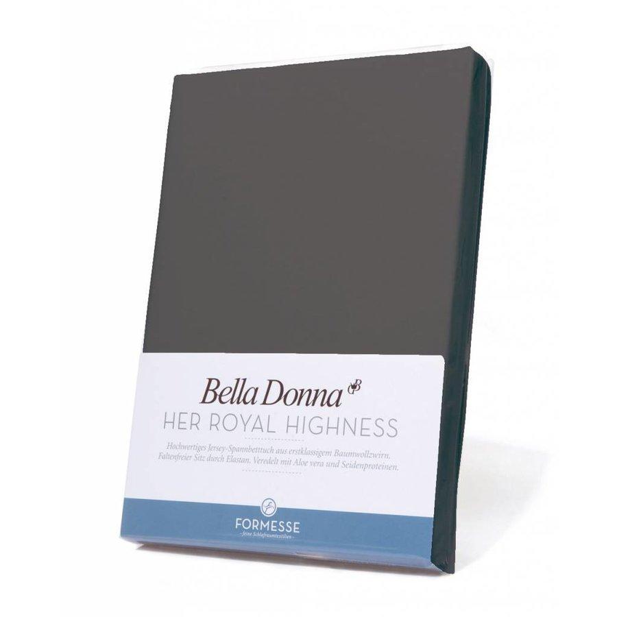 Bella Donna Topper Hoeslaken - Licht Antraciet (0215)