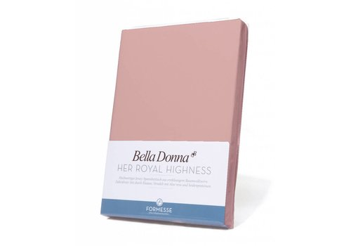 Formesse Bella Donna Topper Hoeslaken - Oudroze (0565)