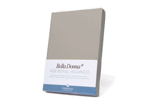 Formesse Bella Donna Topper Hoeslaken - Parelgrijs (0710)
