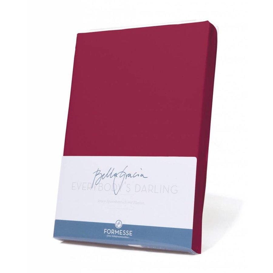 Bella Gracia Jersey Hoeslaken - Bordeaux (0030)