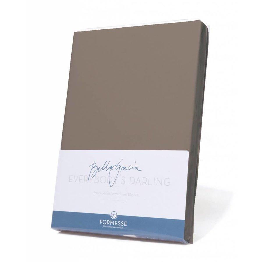 Bella Gracia Jersey Hoeslaken - Platinum (0125)