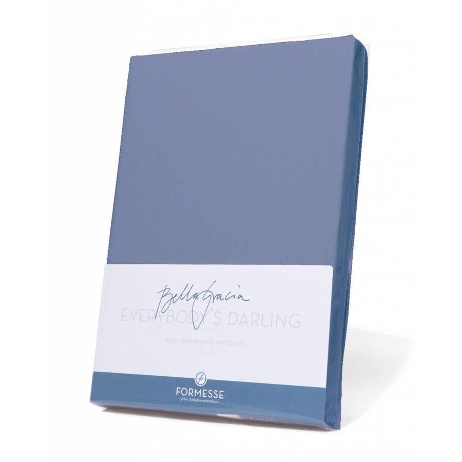 Bella Gracia Jersey Hoeslaken - Jeans Blauw (0211)
