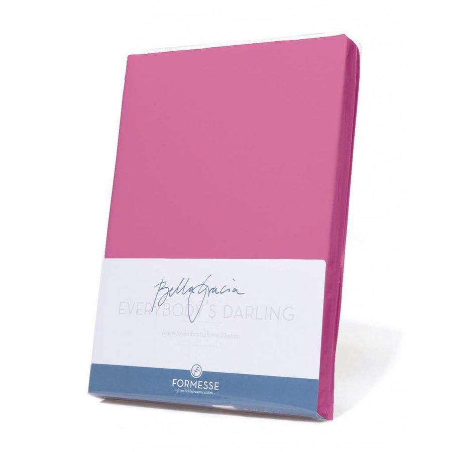 Bella Gracia Jersey Hoeslaken - Flamingo (0539)