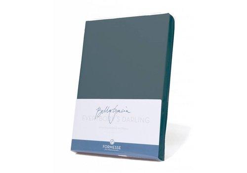 Formesse Bella Gracia Jersey Hoeslaken - Blauwgrijs (0209)