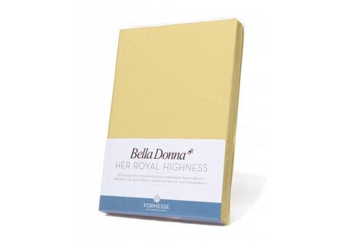 Formesse Bella Donna Hoeslaken - Lichtgeel 180-200cm x 200-220cm