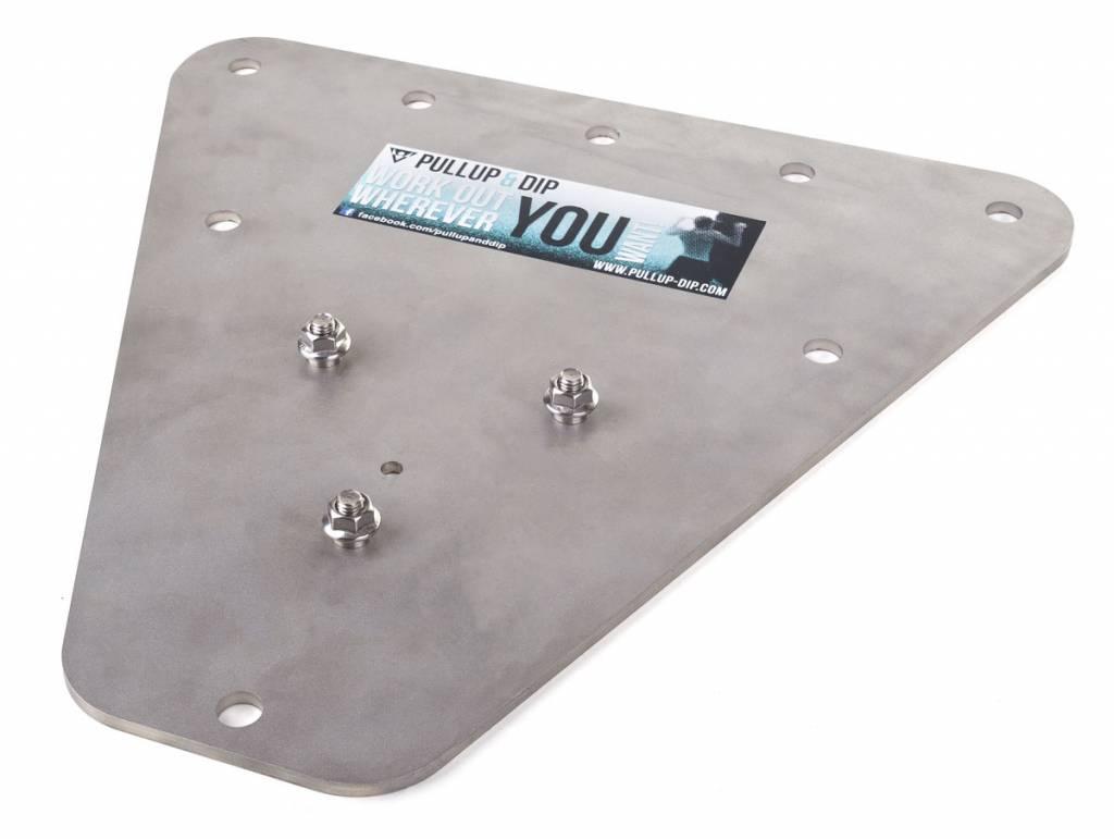 Adaptador para interiores de  Pullup & Dip en acero inoxidable, barras para ejercicio en casa (paquete para interiores)
