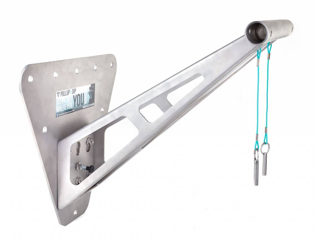 "Indoor adapter incl. drilling template for indoor wall mounted chin-up bar ""Pullup & Dip"""