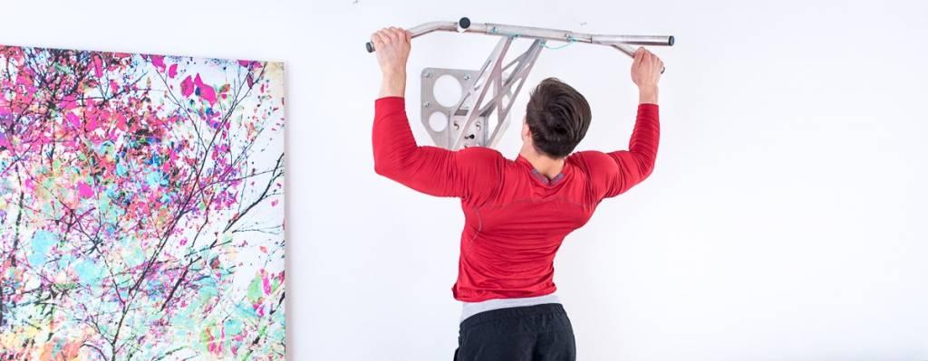 Klimmzugstange für die Wandmontage – wir stellen unsere indoor Pullup & Dip Stange vor.