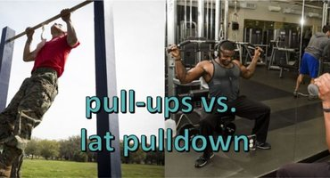 Pull-ups vs. Lat Pull-down – The Differences