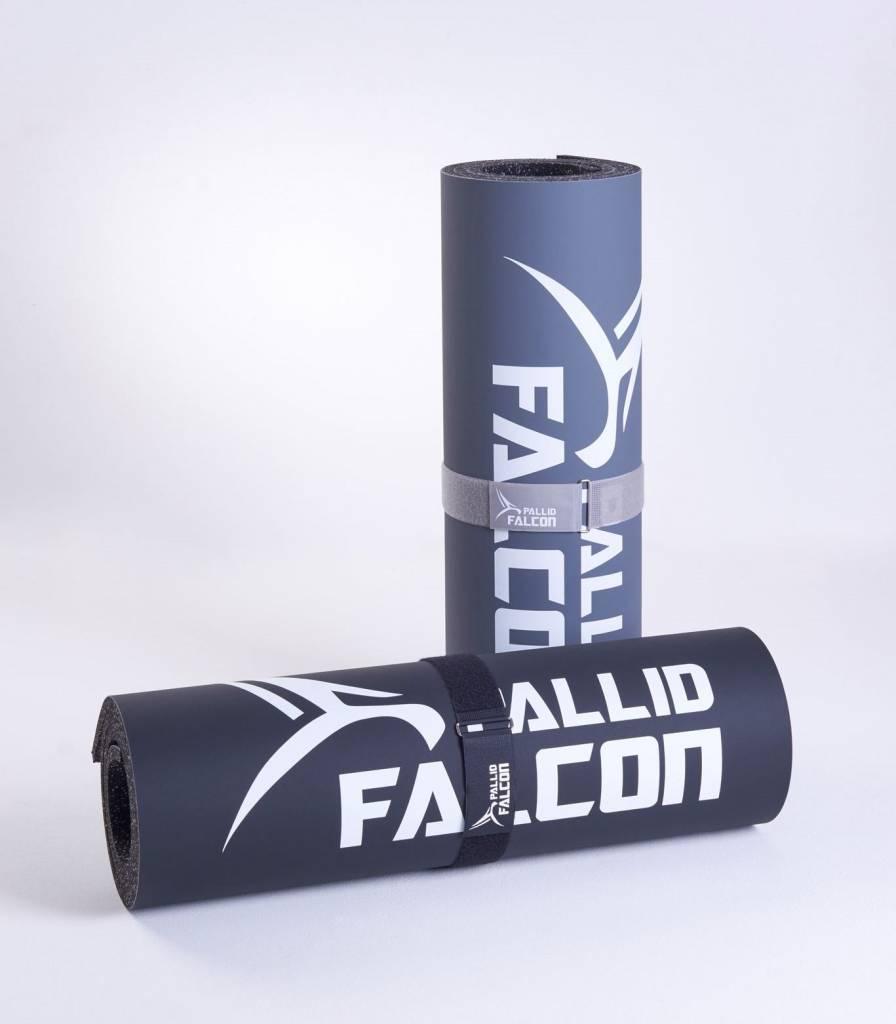 Pallid Falcon IMPACT - ADVANCED WORKOUT SYSTEM ©  - Colchoneta deportiva / Estera de gimnasia, en vinilo y espuma compuesta, resistente a la abrasión, antideslizante e higiénica. HECHO EN ALEMANIA