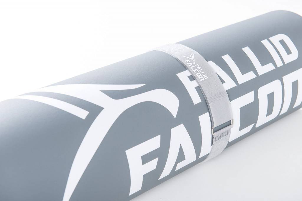 Pallid Falcon IMPACT - ADVANCED WORKOUT SYSTEM© Fitness mat/Gymnastic mat, Vinyl and composite foam, abrasion proof, non-slip and hygienically , MADE IN GERMANY