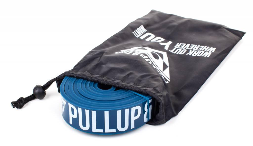 Resistance bands/pull up bands in different strenghts incl. bag