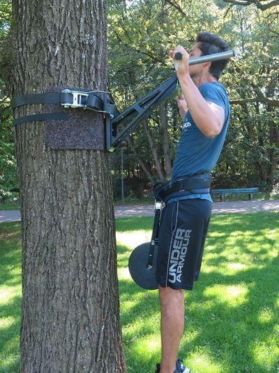 klimmzuege trainieren weighted pull-ups