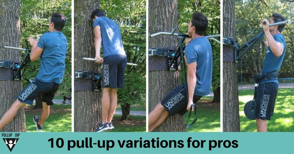 Pull-ups for pros - 10 more advanced pull-up variations