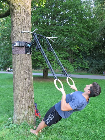 Exercises for more pull-ups bodyweight row