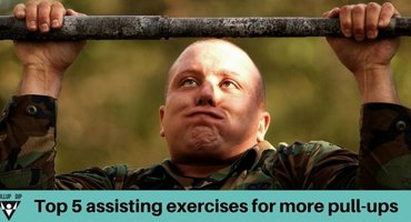 Top 5 Assisting Exercises For More Pull-ups