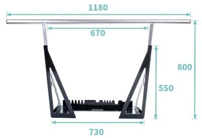 multigriff klimmzugstange the bar mit studiozulassung. Black Bedroom Furniture Sets. Home Design Ideas