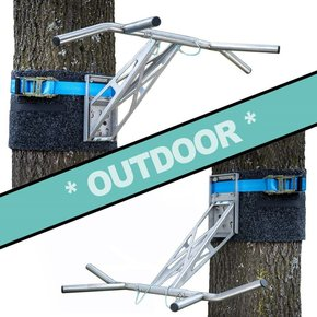 Pullup & Dip - Paquete para exteriores (Acero Inoxidable)