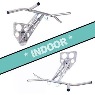Pullup & Dip - Kit pour intérieur (acier inoxydable)