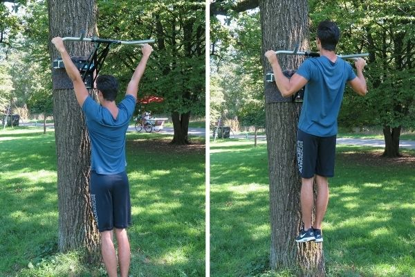 Pull-up bar exercises pull-ups
