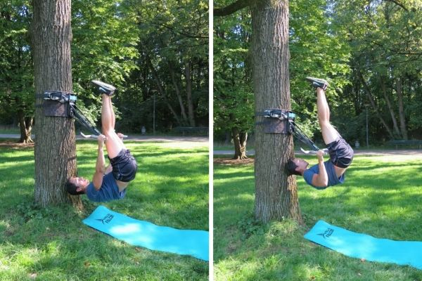 pull-up bar exercises bodyweight rowing