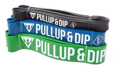 pull-up bands as calisthenics equipment