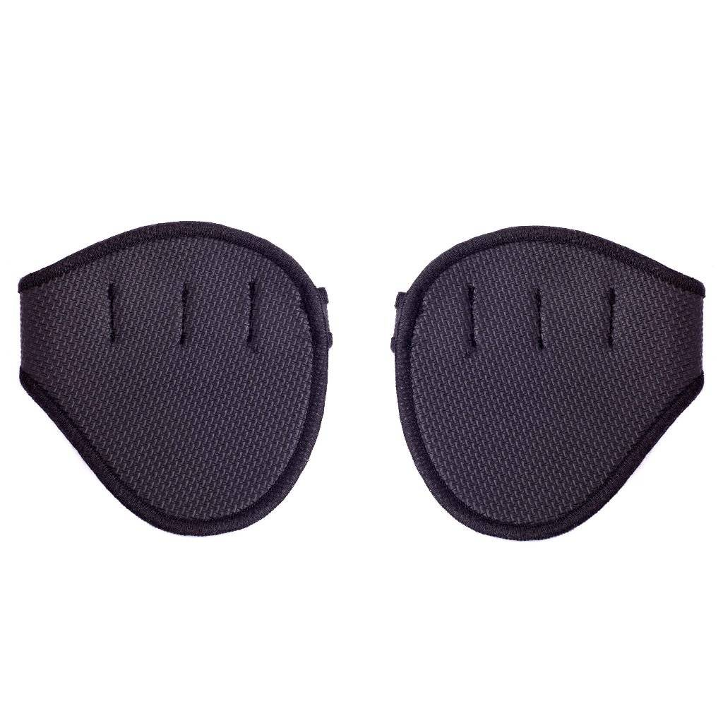 Neoprene grip pads for pull-ups, weight lifting and fitness training