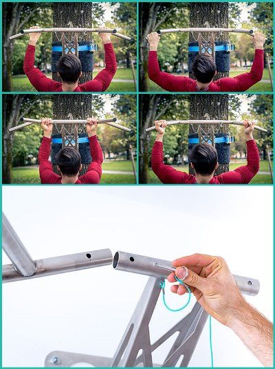 mobile pull-up bar grip positions