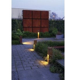 SLV RUSTY SLOT 50 LED Cortenstaal 1xLED 3000K Incl Lichtbron