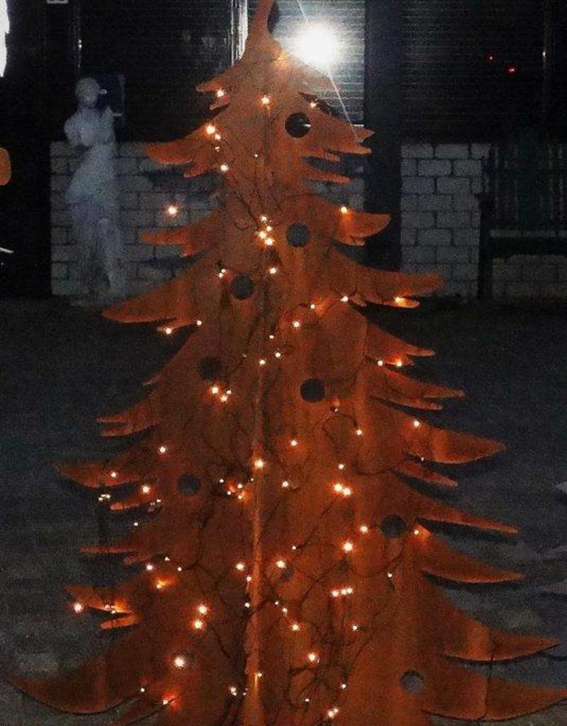 Cortenstaal Kerstboom