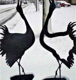 Cortenstaal Kraanvogels